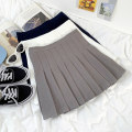 skirt Summer 2021 S,M,L White, gray, navy 18-24 years old 31% (inclusive) - 50% (inclusive) cotton