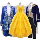 National costume / stage costume Summer of 2019 Prince (panties), Prince (trousers), bell princess skirt (with skirt), beast headgear (one size only), bell maid (without skirt), bell maid (with skirt) S,M,L,XL,XXL,XXXL
