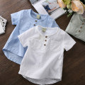 shirt 2208 white, 2208 light green, 2208 light blue, 3506 white, 3506 water blue Other / other male The recommended height is 80cm for Size 90, 90cm for size 100, 100cm for Size 110, 110cm for Size 120, 120cm for Size 130, 130cm for size 140 and 140cm for size 150 summer Short sleeve leisure time T