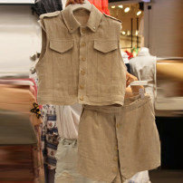 Fashion suit Summer 2020 S,M,L,XL khaki 18-25 years old 30% and below