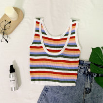 Vest sling Summer of 2019 Color stripe Average size Other / other