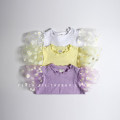T-shirt Purple [order 8-15 working days, no return and exchange], white [order 8-15 working days, no return and exchange], yellow [order 8-15 working days, no return and exchange] Other / other 3(70-80),5(80-90),7(90-100),9(100-110),11(110-120),13(120-130),15(130-140) female other Solid color