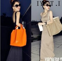 Dress Autumn 2015 Khaki, black 116 long, 125 long, 130 long, 135 long longuette singleton  Sleeveless commute Crew neck middle-waisted Solid color Socket other routine camisole 25-29 years old Other / other Korean version backless other 51% (inclusive) - 70% (inclusive) other cotton