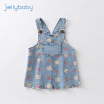 Dress Denim blue female jellybaby 80cm 90cm 100cm 110cm 120cm 130cm Cotton 70.3% polyester 28.7% others 1% spring and autumn college Skirt / vest Cartoon animation other Strapless skirt JQ03522 other Spring 2021 12 months, 18 months, 2 years old, 3 years old, 4 years old, 5 years old, 6 years old
