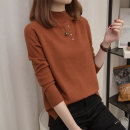 sweater Autumn of 2018 S M L XL Long sleeves Socket singleton  Regular other 95% and above Half high collar Regular routine Solid color Straight cylinder Regular wool Keep warm and warm Meidan beauty Other 100% Pure e-commerce (online only)