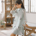 Dress Spring 2021 Apricot green S M L XL Mid length dress singleton  elbow sleeve Sweet other High waist Decor Socket other other Others 18-24 years old Type A Fan Weier More than 95% other other Other 100% solar system Pure e-commerce (online only)
