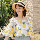 Lace / Chiffon Spring 2021 Picture color S M L XL 2XL 3XL three quarter sleeve Sweet singleton  Regular 18-24 years old Fan Weier 7913-3 Other 100% Pure e-commerce (online only) solar system