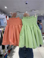skirt Summer 2021 S,M,L,XL Green, purple, black, orange Short skirt commute High waist A-line skirt Solid color Type A 18-24 years old 51% (inclusive) - 70% (inclusive) other other Korean version