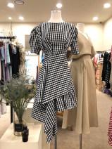 Dress Summer 2020 black S,M,L,XL Mid length dress singleton  Short sleeve commute Crew neck High waist lattice Socket other 18-24 years old Korean version 31% (inclusive) - 50% (inclusive)