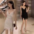 Dress Spring 2021 White, black S,M,L 18-24 years old