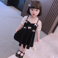 Dress Graph color female Other / other 90cm,100cm,110cm,120cm,130cm Other 100% summer princess Long sleeves Solid color cotton Pleats 7 years old, 8 years old, 12 months old, 3 years old, 6 years old, 18 months old, 9 months old, 6 months old, 2 years old, 4 years old, 5 years old Chinese Mainland