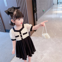 Dress Graph color female Other / other 90cm,100cm,110cm,120cm,130cm Other 100% summer princess Long sleeves other Cotton blended fabric A-line skirt 7 years old, 8 years old, 12 months old, 3 years old, 6 years old, 18 months old, 9 months old, 6 months old, 2 years old, 5 years old, 4 years old