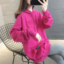 Sweater / sweater Winter 2020 S M L XL Long sleeves routine Socket singleton  routine Hood easy commute routine Solid color 96% and above You've got to go Korean version other pocket Other 100%
