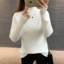 sweater Autumn 2020 S M L XL Long sleeves Socket singleton  Regular other 95% and above Half high collar thickening routine Solid color Self cultivation Regular wool Keep warm and warm 18-24 years old You've got to go A06143 thread Other 100% Pure e-commerce (online only)