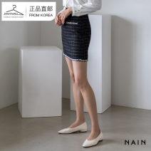 skirt Autumn 2020 S M Light green black Short skirt High waist KASS01780463 More than 95% nain polyester fiber Polyethylene terephthalate (polyester) 99% other 1%
