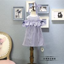 Dress As shown in the figure Other / other female 90cm(7) 100cm(9) 110cm(11) 120cm(13) 130cm(15) Other 100% summer Korean version Skirt / vest Solid color other Cake skirt Seventeen Class A
