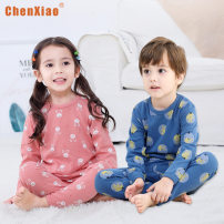 suit Chen Xiao 90cm,100cm,110cm,120cm,130cm,140cm,150cm male winter Korean version other routine There are models in the real shooting stripe cotton 7003-155448 men's Vest 1124 Class A 8 years old Chinese Mainland