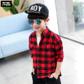 shirt Red check black check green check Zuo Xi male spring and autumn Long sleeves leisure time lattice other Cotton 100% ZY191267 Class B Spring of 2019