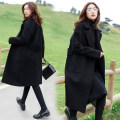 Women's large Winter 2020, autumn 2020 woolen coat singleton  commute moderate Cardigan Long sleeves Korean version polyester Collage 25-29 years old