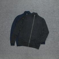 T-shirt / sweater Others other Navy blue, dark grey XXS,XS,[S],[M],[L],[XL],[XXL] Cardigan stand collar Long sleeves