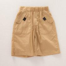 trousers Other / other male 110cm,120cm,130cm,140cm,150cm,160cm khaki Pant Overalls cotton M0320-05 Five, six, seven, eight, nine, ten