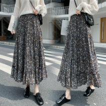 skirt Summer 2021 Average size Decor Mid length dress commute High waist Cake skirt Decor Type A 18-24 years old DF 51% (inclusive) - 70% (inclusive) Korean version