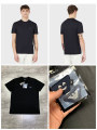 T-shirt Fashion City black thin S,M,L,XL,2XL Others Short sleeve Crew neck Self cultivation Other leisure summer