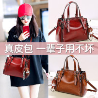 Bag Inclined shoulder bag PU Bucket bag Coolrich / Coolidge Black, Burgundy, brown brand new Retro in leisure time soft Buckle yes Solid color Single root One shoulder portable messenger Yes youth Bucket shaped Belt decoration Handling handle polyester fiber soft surface Inner patch pocket