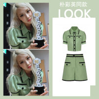 Fashion suit Summer 2021 S,M,L Top + shorts 18-25 years old