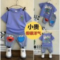 T-shirt Bbabba / children's wear male summer leisure time other printing Cotton 80% polyester 20% Over 14 years old Chinese Mainland