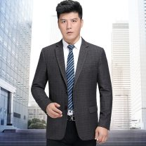 man 's suit As shown in the figure Oana  Youth fashion thick 180/52,185/54,175/50,165/46,190/56,170/48 3/35--5256--15 Extra wide A double breasted button Other leisure Double slit Long sleeves winter routine lattice