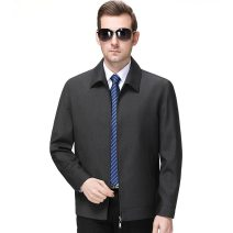 Jacket Oana  Youth fashion Gray, black 170/88,175/92,180/96,185/100,190/104 ordinary Syncytial type Other leisure Spring and Autumn 113-8808 Long sleeves Wear out Lapel routine Regular sleeve Solid color Pocket decoration Side seam pocket