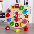 Jigsaw puzzle Siyoo / Xingyu 3 years old, 4 years old, 5 years old, 6 years old, 7 years old, 8 years old, 9 years old, 10 years old, 11 years old, 13 years old, 14 years old and above Wooden toys Chinese Mainland clocks and watches Three dimensional jigsaw puzzle wood Yes