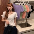 T-shirt Average size Spring 2021 Short sleeve Self cultivation have cash less than that is registered in the accounts commute other 30% and below 18-24 years old Korean version Other / other