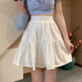 skirt Summer 2021 S,M,L White, yellow, black, pink, Mint Milk Green Short skirt commute High waist Ruffle Skirt Type A 18-24 years old 0407L 30% and below other Other / other Korean version