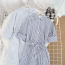 Dress Summer 2020 Light blue stripe M, L