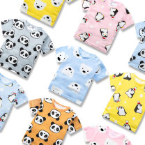 T-shirt Beyonce 66cm 73cm 80cm 90cm 100cm neutral summer Short sleeve Crew neck leisure time There are models in the real shooting nothing cotton Cartoon animation Cotton 100% Class A other Summer 2020 3 months 6 months 12 months 9 months 18 months 2 years 3 years old Chinese Mainland Jieyang City