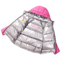 Down Jackets 90% White duck down Children, female, male A100 Rose red, black polyester fiber have cash less than that is registered in the accounts Detachable cap Zipper shirt Solid color Class A Polyester 100% 2, 3, 4, 5, 6, 7, 8, 9, 10 years old Korean version Chinese Mainland