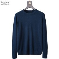T-shirt / sweater Others Fashion City Navy, sky blue, green, purple, dark green M,L,XL,2XL,3XL routine Socket Lapel Long sleeves K8561-E winter Straight cylinder 2020 Wool 100% leisure time Business Casual youth routine Solid color washing Fine wool (16 and 14 stitches) Pure wool (95% or more) other