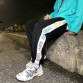 Casual pants Others Youth fashion blue , black , light gray M. L, XL, 2XL, s small, XS plus small Ninth pants Travel? easy