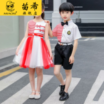 Children's performance clothes neutral Miao Xi Class B upOIS other Flax 100% polyester 12 months 18 months 2 years 3 years 4 years 5 years 6 years 7 years 8 years 9 years 10 years 11 years 12 years 13 years 14 years 3 months 6 months 9 months Spring 2021 Chinese Mainland Chinese style HeZe