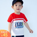 T-shirt gules singbail 80cm 90cm 100cm 110cm 120cm 130cm neutral summer Short sleeve Crew neck motion No model nothing Pure cotton (100% cotton content) Cartoon animation Cotton 100% Summer 2020 6 months 12 months 9 months 18 months 2 years 3 years 4 years old