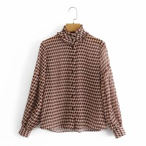 shirt As shown in the figure XS,S,M,L Winter 2020 other 81% (inclusive) - 90% (inclusive) Long sleeves street 18-24 years old Europe and America