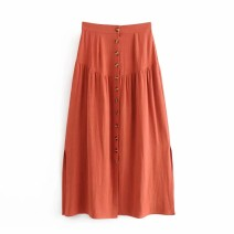 skirt Summer 2020 S,M,L,XL As shown in Figure 1, as shown in Figure 2 Mid length dress street High waist 18-24 years old 81% (inclusive) - 90% (inclusive) Europe and America
