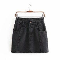 skirt Summer 2020 S,M,L,XL As shown in the figure Short skirt street High waist 18-24 years old 81% (inclusive) - 90% (inclusive) Europe and America