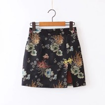 skirt Spring 2020 S,M,L As shown in the figure Short skirt street High waist 18-24 years old 81% (inclusive) - 90% (inclusive) Europe and America