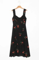 Dress Summer 2020 As shown in the figure S,M,L Mid length dress street High waist 18-24 years old 81% (inclusive) - 90% (inclusive) Europe and America