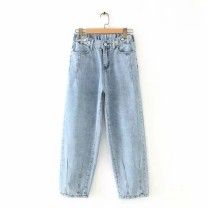 Casual pants As shown in the figure M,L,XL,2XL Summer of 2019 High waist street routine 18-24 years old 96% and above Europe and America
