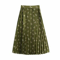 skirt Spring 2021 XS,S,M,L As shown in the figure Mid length dress street High waist 18-24 years old 71% (inclusive) - 80% (inclusive) other Europe and America