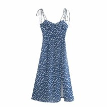 Dress Summer 2020 As shown in the figure S,M,L Mid length dress street 18-24 years old 81% (inclusive) - 90% (inclusive) Europe and America